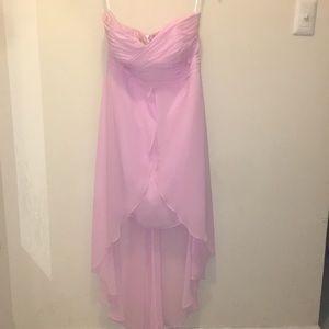 Gorgeous HI-Low Formal David's Bridal Dress